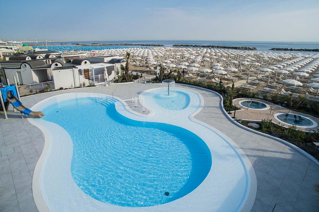 Zona 99 cattolica la tua spiaggia con piscina e - Bagno 99 cattolica ...